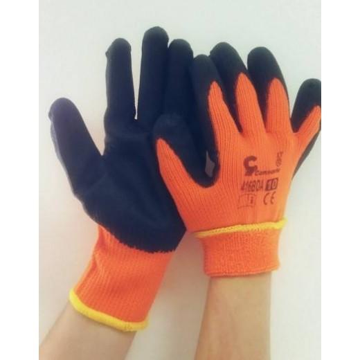 Перчатки арт. 416 BOA (р.10,5) (оранжевые утепленые )