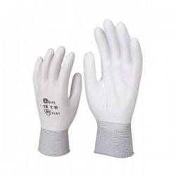 Перчатки нейлоновые с ПУ (арт. PU132-W)