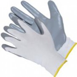 Перчатки нейлоновые с нитрильным покрытием (арт. ПН061)
