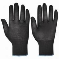 Перчатки нейлоновые цв. черный (арт. ПН056)