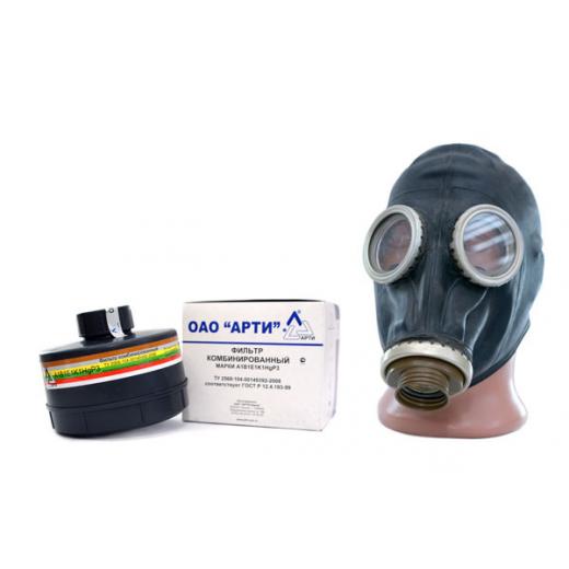 Промышленный противогаз ППФ-1 с маской ШМП и ФК А1B1E1K1HgP3