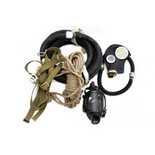 Противогаз шланговый ПШ-1С с маской ШМП (шланг ПВХ)