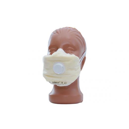 Противогазоаэрозольный респиратор Алина-В (с клапаном)