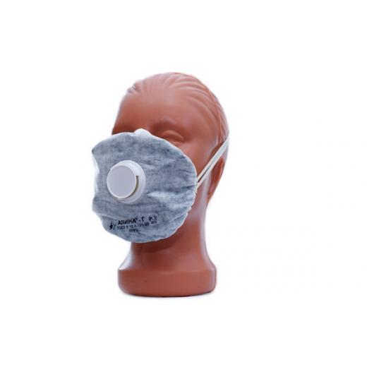 Противогазоаэрозольный респиратор Алина-Г (с клапаном)