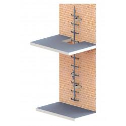 Фасадная лестница со встроенной системой вертикальной страховки AC 530