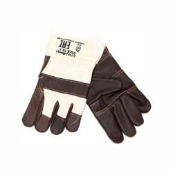 Перчатки кожаные (арт. E0401-Brown)