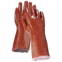 Перчатки арт. 421-45 (р.10,5) (красные - ПВХ)