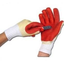 Латексные рабочие перчатки R412 Pomarańcz