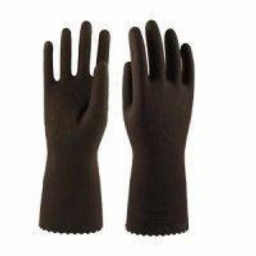 Перчатки резиновые технические КЩС тип 1 (арт. К50Щ50)