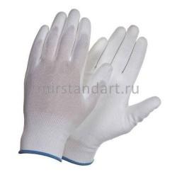 Рабочие перчатки нейлоновые с полиуретановым покрытием (арт. H709)