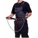 Пояс страховочный АаГ с цепью и амортизатором