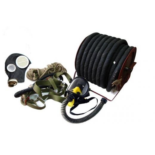 Противогаз шланговый ПШ-20 с маской ППМ-88 (резиновый шланг)