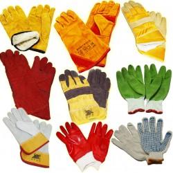 Виды рабочих перчаток по материалам