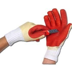 латексные рабочие перчатки